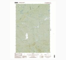 Maine USGS Historical Map Campbell Brook 104992 1989 24000 One Piece - Short Sleeve