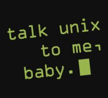 Talk Unix To Me, Baby Kids Clothes