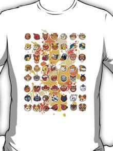 Pokemon - Fire invasion (White background) T-Shirt