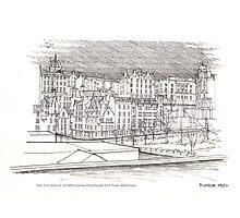 The Edinburgh Old Town 486 Photographic Print