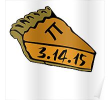 Ultimate pi day 3.14.15 Poster