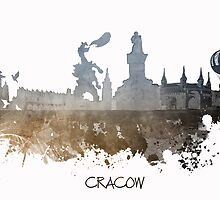 Cracow Poland skyline by JBJart