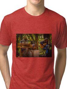 Music in HDR Tri-blend T-Shirt
