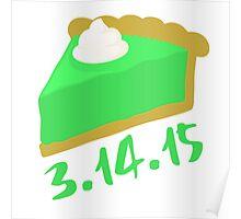 Key lime pi day 2015 Poster