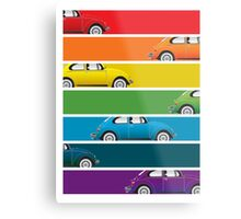 Bug Spectrum Metal Print