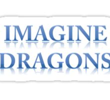 IMAGINE DRAGONS Sticker