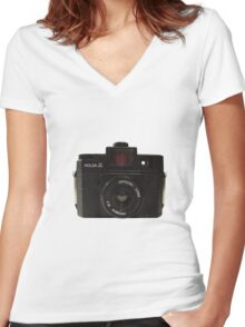 Holga Women's Fitted V-Neck T-Shirt