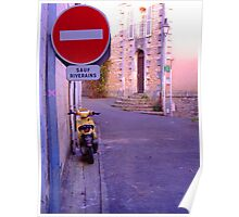 Verteuil, France Poster