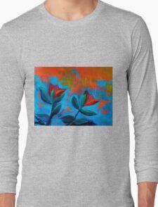 Dancing Tulips Long Sleeve T-Shirt