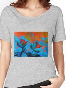 Dancing Tulips Women's Relaxed Fit T-Shirt