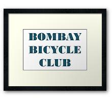 BOMBAY BICYCLE CLUB LOGO Framed Print
