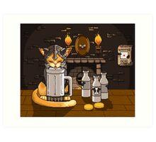Milk Bar Art Print