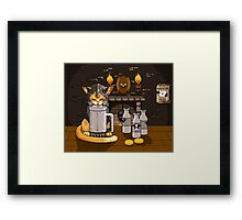 Milk Bar Framed Print