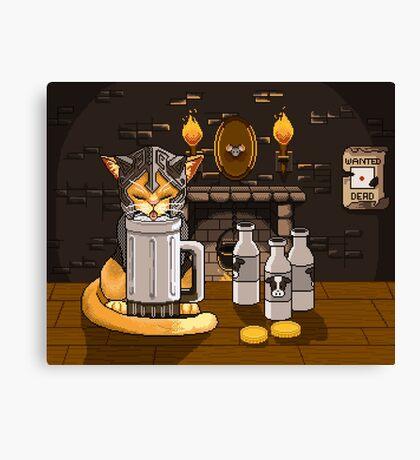 Milk Bar Canvas Print