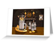 Milk Bar Greeting Card