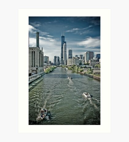 Sears Tower Chicago 01 Art Print