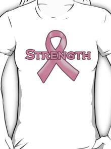 Pink Ribbon Strength T-Shirt