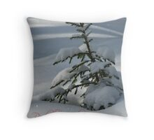 'Peaceful Christmas in Finnish - part I' Throw Pillow