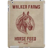 Walker Farms Horse Feed Vintage Sack iPad Case/Skin