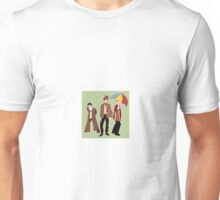 Mix-Matched Doctors From Doctor Who Unisex T-Shirt