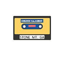 Childish Gambino Stone Mt. Cassette  by John-Michael Baldy