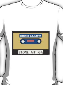 Childish Gambino Stone Mt. Cassette  T-Shirt
