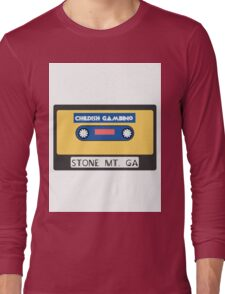 Childish Gambino Stone Mt. Cassette  Long Sleeve T-Shirt