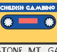 Childish Gambino Stone Mt. Cassette  Sticker