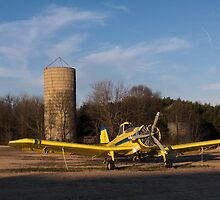Yellow Crop Duster by AlixCollins