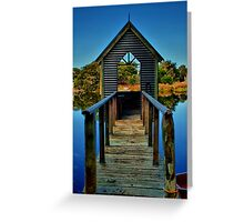 """Room With A View"" Greeting Card"
