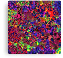 Abstract - multi-coloured Canvas Print