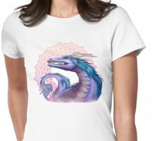 Sahasrara Dragon Womens Fitted T-Shirt