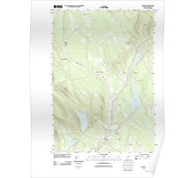 Maine USGS Historical Map Canaan 20110906 TM Poster