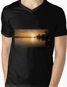 Frozen sunrise Mens V-Neck T-Shirt