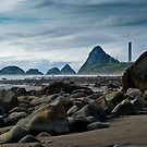 New Plymouth Beachline, Taranaki, New Zealand by Dean Mullin