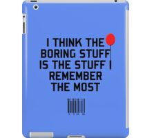 The Boring Stuff iPad Case/Skin