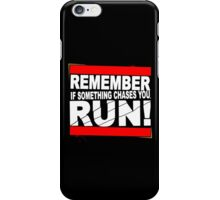 Run! iPhone Case/Skin