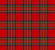 Royal Stewart Tartan by thecelticflame