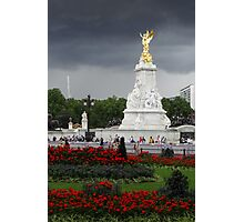 Victoria Memorial Under a Dramatic Sky Photographic Print