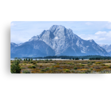 #577   First There Was A Mountain Canvas Print