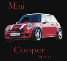 Mini Cooper Sports One Piece - Long Sleeve