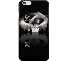 Valentine's Day #6 - Black Angel - Love iPhone Case/Skin