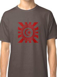 Mandala 34 Colour Me Red Classic T-Shirt