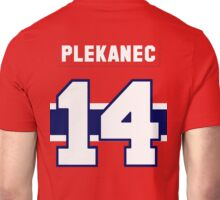 Tomas Plekanec #14 - red jersey Unisex T-Shirt