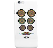 Glasses and mustache iPhone Case/Skin