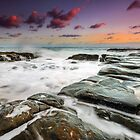 Pt Cartwright Rocks! Sunshine Coast Qld Australia by Beth  Wode