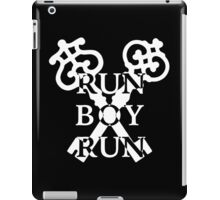 Run Boy Run iPad Case/Skin