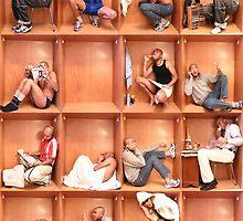 Men in a box... by liberoliber