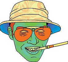 Duke (Fear and Loathing in Las Vegas) by Jacob Hoopes