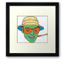 Duke (Fear and Loathing in Las Vegas) Framed Print